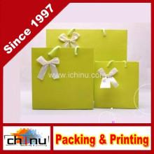 Bolsa de papel de arte / bolsa de papel blanco (2213)