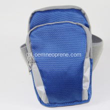 Blue Canvas Running Sports Armband te koop