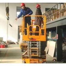 Trabajo aéreo Mesa hidráulica accionamiento eléctrico industrial autopropulsado elevador de tijera elevado