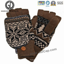Wholesale Custom Fashion Fleece Knitted Winter Warm Hand Glove