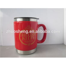 new products 2015 innovative product stainless steel custom sublimation ceramic mug