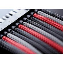 Mangas de proteção contra incêndio coloridas para cabos