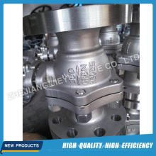Industrial Stainless Steel Trunnion Ball Valve