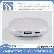 2500mAh USB Banco de Energia Universal Phone Charger para Smart Phone Camera PSP MP3 DV