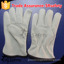 SRSAFETY cow grain leather, driver gloves