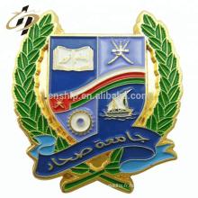 L'insigne en zinc en alliage de zinc personnalisé insigne en métal souvenir badge avec megnetic
