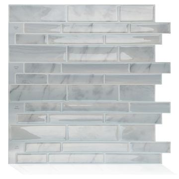 Kundenspezifische 3D Peel and Stick Backsplash Vinyl Wallpaper