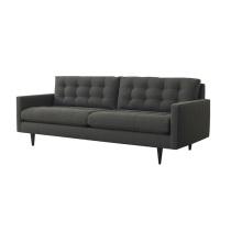 Sofá popular de la tela del mobiliario casero del ocio de 3 seater