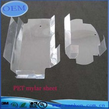 Transparent polyester mylar tape of fiberglass sheet