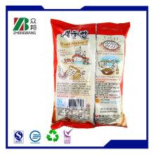 Back Sealed Plastic Small Sachet Bag for Ice Cream Packaging