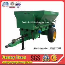 Factory Low Price Tractor Trailed Fertilizer Spreader with Double Spreading Plate