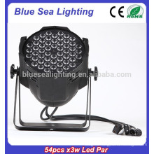 factory price 54pcs x 3w dj light disco light par 64 led