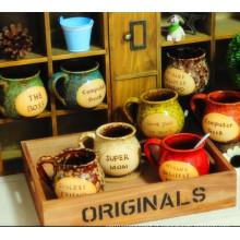 Coupe de café en porcelaine de style européen design créatif