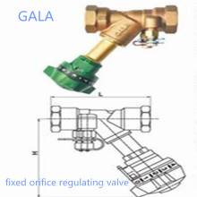 Válvula reguladora de orifício fixo