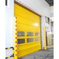 Porte empilable coupe-vent intérieure en alliage d'aluminium
