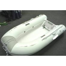 2014 Barco inflável de casco de fibra de vidro branco atraente de 270 cm Barco Walker com CE China