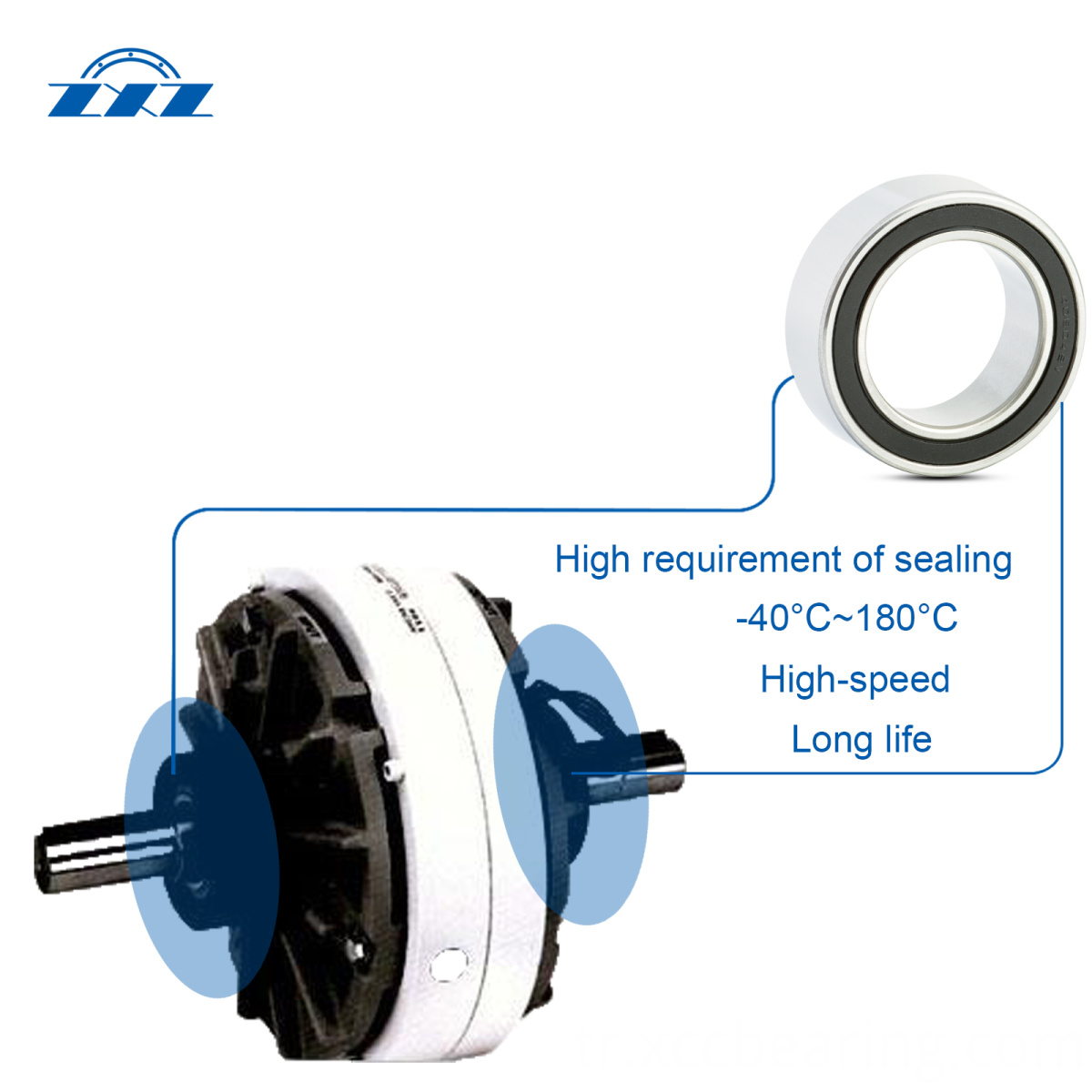 Air Conditioning Electromagnetic Clutch Bearings