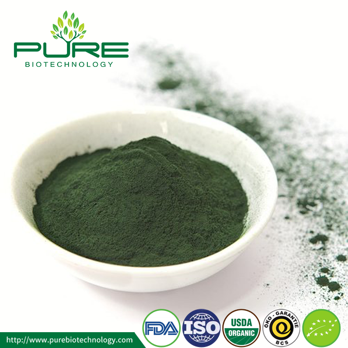 Top Grade NOP EU Certified Organic Spirulina Powder (4)
