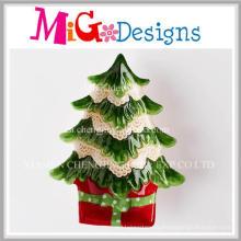 Cool Christmas Gift Latest Ceramic Christmas Tree Snack Plate