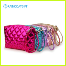 Shiny PVC/PU Cosmetics Pouch, Traveling Cosmetic Bag