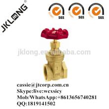 J1001 Válvula de compuerta de latón
