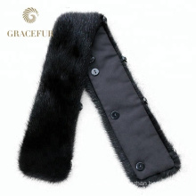 New model real removable real rex rabbit fur collar good price cheap wholesale