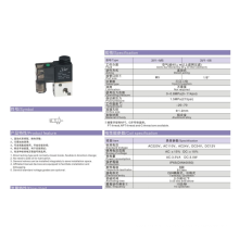 Válvulas solenoides de acción directa serie ESP 3V1