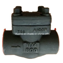 API602 Forged Steel A105 Thread End NPT Lift Check Valve