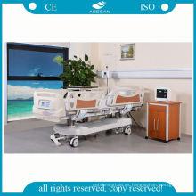 Precio de fábrica hospital multifunción ajustable enfermería médica clínica cama