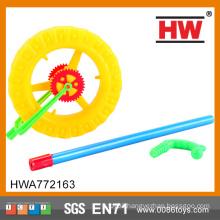 New Design Kids Plastic Push Wheel Toy