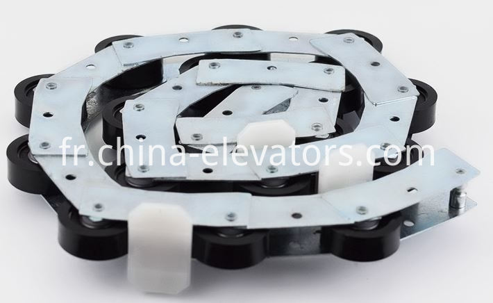 Rotating Chain for Schindler 9300 Escalator 17 pcs rollers