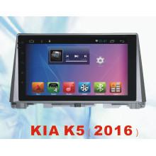 Android System Car Tracker para KIA K5 2016 con coche DVD y navegación de coche