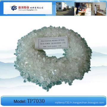 Tp7030 - Résine de polyester saturée de carboxyle pour l'enduit de poudre
