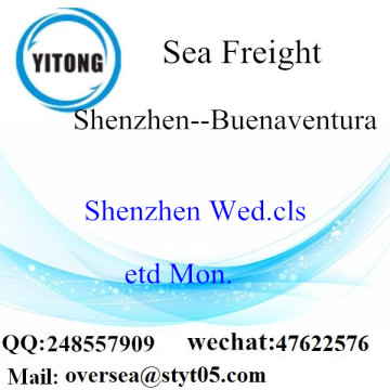 Shenzhen Port LCL Consolidation To Buenaventura