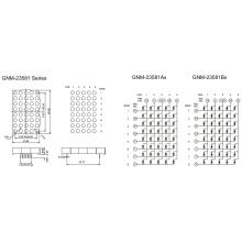 2.3 Inch, 5.0mm DOT (GNM-23581Ax-Bx)