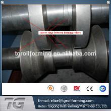 Passed CE und ISO C Purlin Quick Interchange Roll Forming Machine in China mit niedrigem Preis gemacht