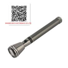 Antorcha de aluminio recargable del CREE 3W, luz de la antorcha del LED