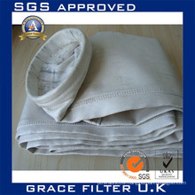 industrial faberglass filter fabric with PTFE membrane