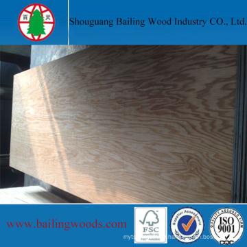 Natural Red Oak Veneer Plywood for Cabinet