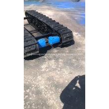 Зерноуборочный комбайн с резиновой гусеницей Сельское хозяйство с резиновой гусеницей Ходовая часть шасси для продажи