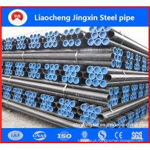 Tubo de aço sem costura laminado a quente ASTM A106 para venda quente