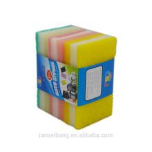 JM0353 Кухонные инструменты 3 iN 1 Деликатная чистящая салфетка для губки Красочные кухонные горячие накладки