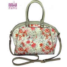 Flower Print Tote Bag Shoulder Bags N-1109