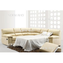 Furniture Leather Sofa Bed (613)