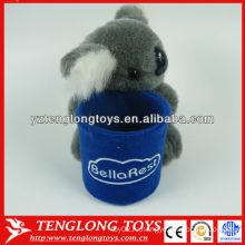 Симпатичные коала плюшевые игрушки чучела карандаш держатель для детей