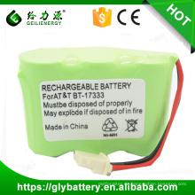 BT-17333 Hohe Qualität wiederaufladbare Ni-Mh 3,6 V 2 / 3aa 600mAh Batterie