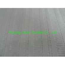 75 * 150 D llano del poliester realzado piel del melocotón tela blanco tela realzada