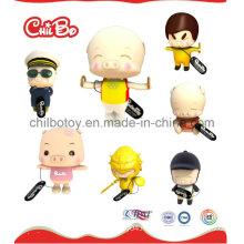 Mcdull Pig Series Plastic Figure Toys (CB-PM031-S)