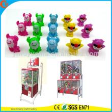 El plástico colorido vacío vendedor caliente capsula el envase de los juguetes