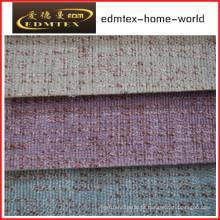 Tecido liso do Chenille para a embalagem do sofá nos rolos (EDM0206)